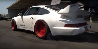 rauh welt porsche rauh welt begriff porsche 911 turbo does a burnout clutch says