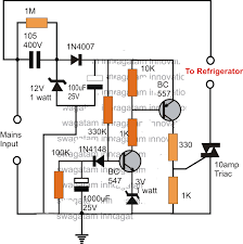 make a simple refrigerator thermostat circuit