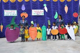 vegetable day celebration of montessori knc innovative global school