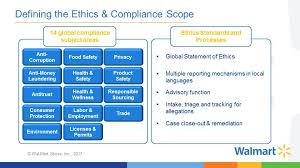 jay jorgensen on walmart u0027s enhanced ethics u0026 compliance program