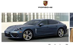 future porsche panamera leaked this is the new porsche panamera according to