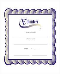 9 sample certificate templates u2013 free sample example format