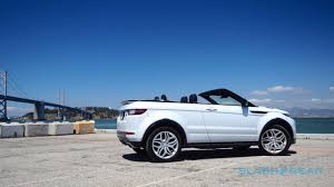 land rover evoque blue range rover evoque convertible review droptop suv an acquired