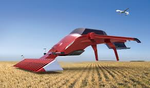 future lamborghini flying concept of the future harvester combine on behance