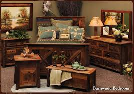 Barn Wood Bedroom Furniture Town U0026 Country Rustic Furniture And Bed Siding