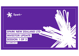 Seeking New Zealand Spark New Zealand Limited Nztcf Investor Presentation