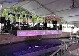 we love the power of a custom built stage evantine design