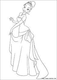 ã dessiner la princesse et la grenouille gratuit