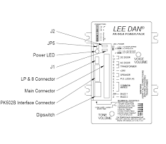 lee dan pk 543a apartment intercom amplifier