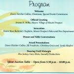 Banquet Program Templates Agenda Examples Templates Invitation Free Microsoft Sample