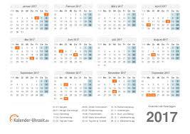 kalender 2017 mit feiertagen zum ausdrucken pdf vorlage 1