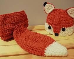 0 3 Months Halloween Costumes Baby Fox Costume Etsy