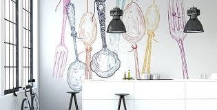 papier peint cuisine lavable cuisine papier peint beautiful papier peint pour cuisine couverts