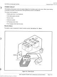 i am looking for a wiring diagram for a 2004 48 club car precedent