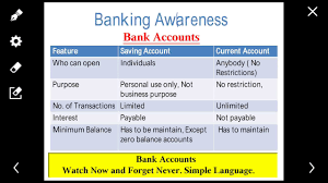 difference between saving account current account fixed account