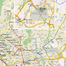 Metro Rail Dc Map by Master Planning For Metrorail 2025 2050 Atlas