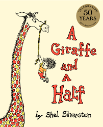 a giraffe and a half is a great book for repetition and rhyming