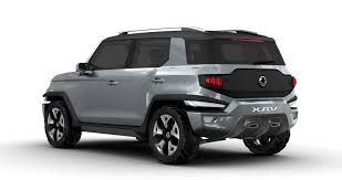ssangyong ssangyong reportedly greenlights xav concept for production