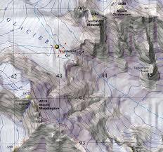 Map Of University Of Washington by Coast Range Ice Cores University Of Washington