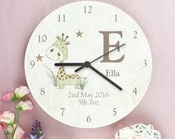 shabby chic clock etsy
