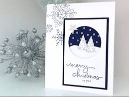 simply simple flash card snow is falling card by