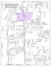Joliet Illinois Map Nopt Boundaries U2013 Joliet Police Department