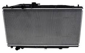 unishop denso 2213230 radiator fits 2003 2007 honda accord m1 den 2213230