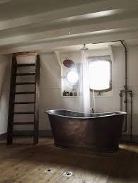 15 bold bathroom designs with copper bathtub rilane bold rustic bathroom with copper bathtub