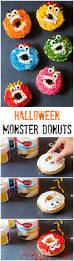halloween monster donuts a spicy perspective