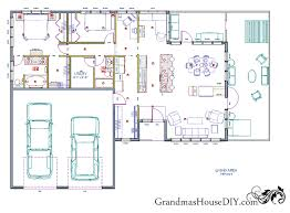 free floor plans free house plan an easy going one ranch grandmas house diy