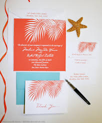 palm tree wedding invitations palm tree fronds wedding invitations mospens studio