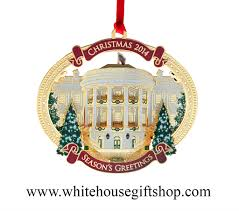 white house ornament 2014 24kt gold finish 26 in