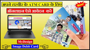 customized debit cards how to apply for mydesign image debit card online axis bank