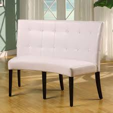 modus bossa dining height leatherette banquette beyond stores