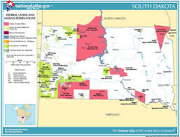 map usa indian reservations file national atlas indian reservations south dakota gif