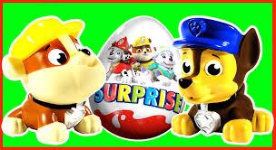 paw patrol surprise eggs toys la pat u0027 patrouille jouets oeufs