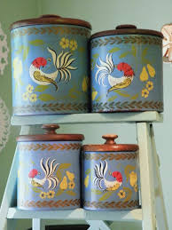 vintage kitchen canister sets best 25 vintage canisters ideas on vintage kitchen