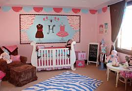 Pink Rug For Nursery Exquisite Baby Nursery Room Decoration Using Pink Brown Polka