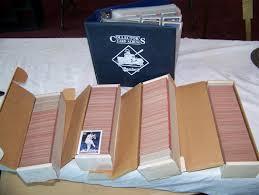 multi baseball card lot including folder w 800 1980 s