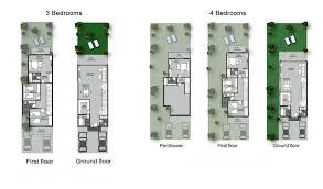 rukan floor plan 3 u0026 4 bedroom villas townhouses u2013 rukan