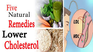 five natural remedies to lower cholesterol levels high