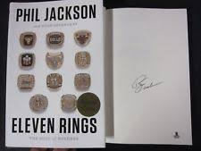 phil jackson signed basketball nba ebay