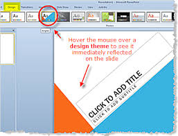 Design Themes In Powerpoint 2010 Presentations Theme Ppt 2010