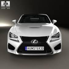 lexus sport car 2014 3d model lexus rc f 2014 cgtrader