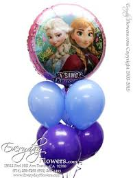 singing balloons delivery singing frozen balloons for delivery in orange county ca