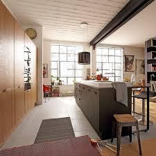 cuisine loft leroy merlin noir mat et profond