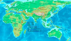 Accurate Map Of The World World History Maps By Thomas Lessman