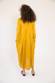 honey clothing black crane honey pleated cocoon dress garmentory