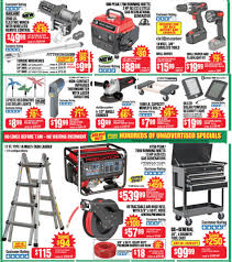 harbor freight tools black friday 2017 sales ad scan black