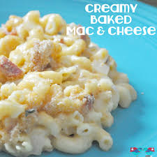 creamy baked mac and cheese with title jpg 2 813 2 813 pixels
